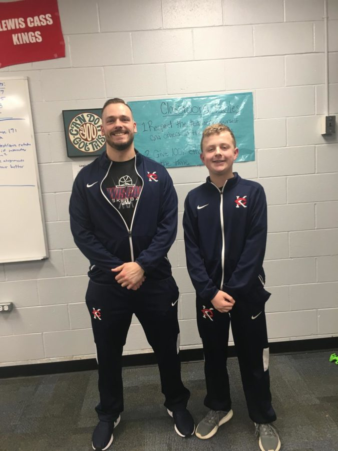 Coach Groff joins the Lewis Cass Basketball Staff!