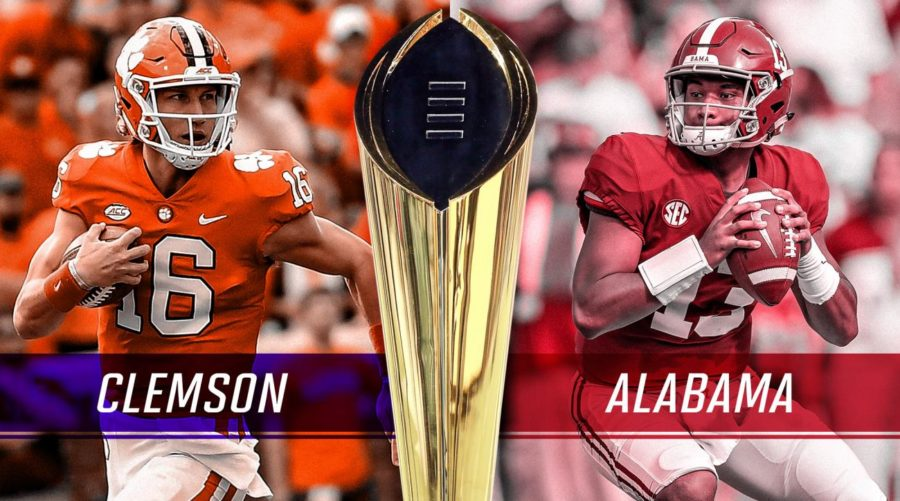 Clemson+Quarterback+Trevor+Lawrence+and+Alabama%27s+Tua+Tagovailoa