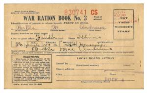 Rationing During World War II