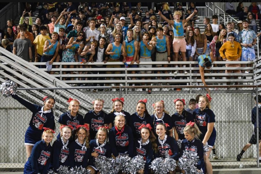 The Lewis Cass Student Section